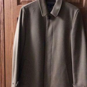 Wool cashmere top coat size medium